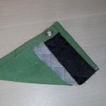 Гаражная штора из брезента СКПВ со стеганым синтепоном