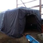 Палатка охотника