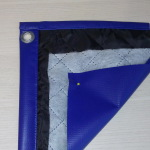 Гаражная штора утепленная из ПВХ ткани с синтепоном на подкладе