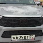 Утеплитель на радиатор Toyota Hilux