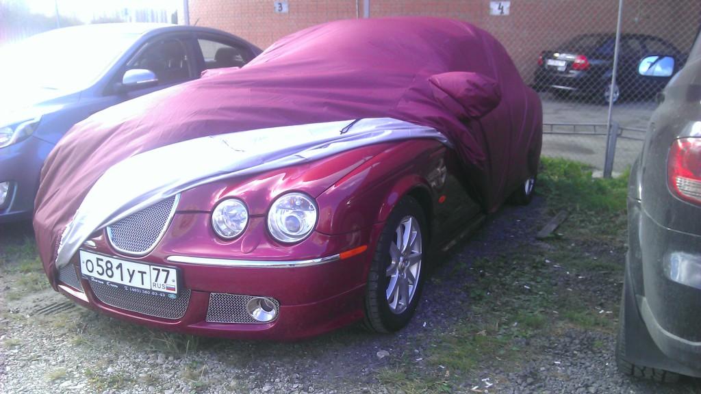 Тент чехол на автомобиль Jaguar