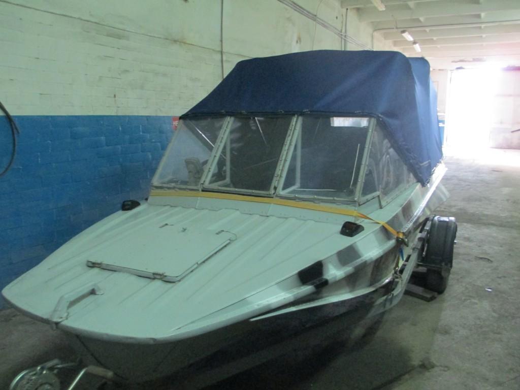 Изготовление тента на лодку Казанка