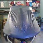 Пошив защитного тента-чехла на гидроцикл в Томске