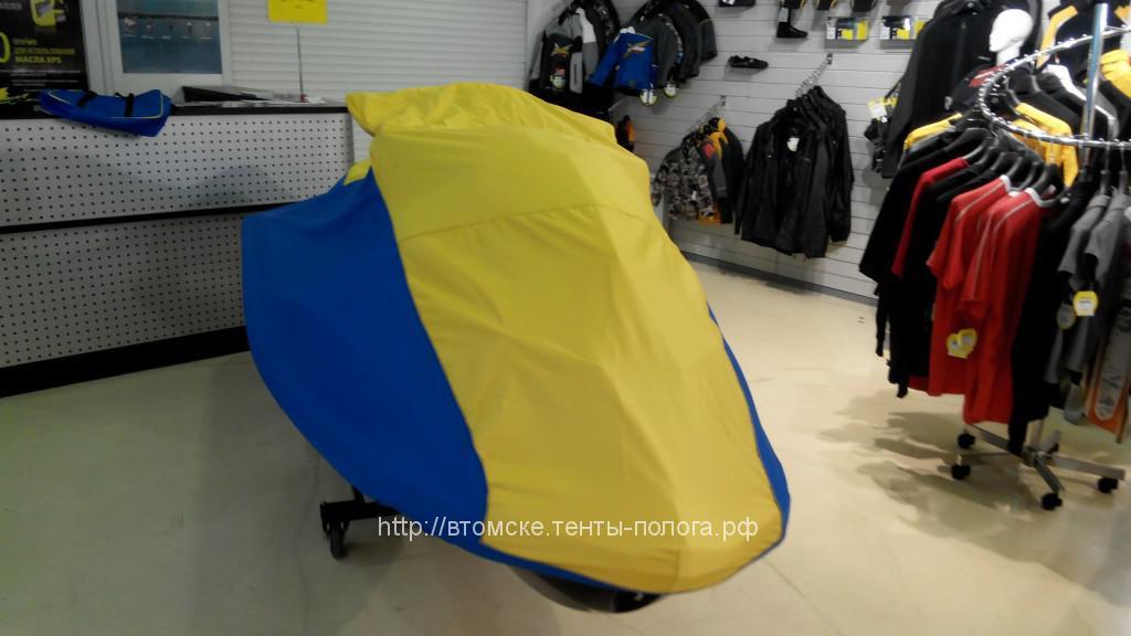 Пошив транспортировочного чехла для гидроцикла BRP Spark-2