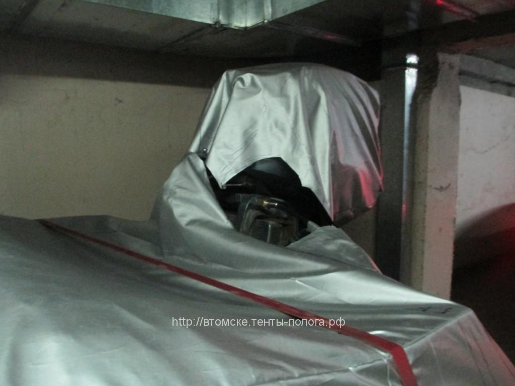 Защитный тент-чехол для лодки Крым, пошив в Томске на заказ