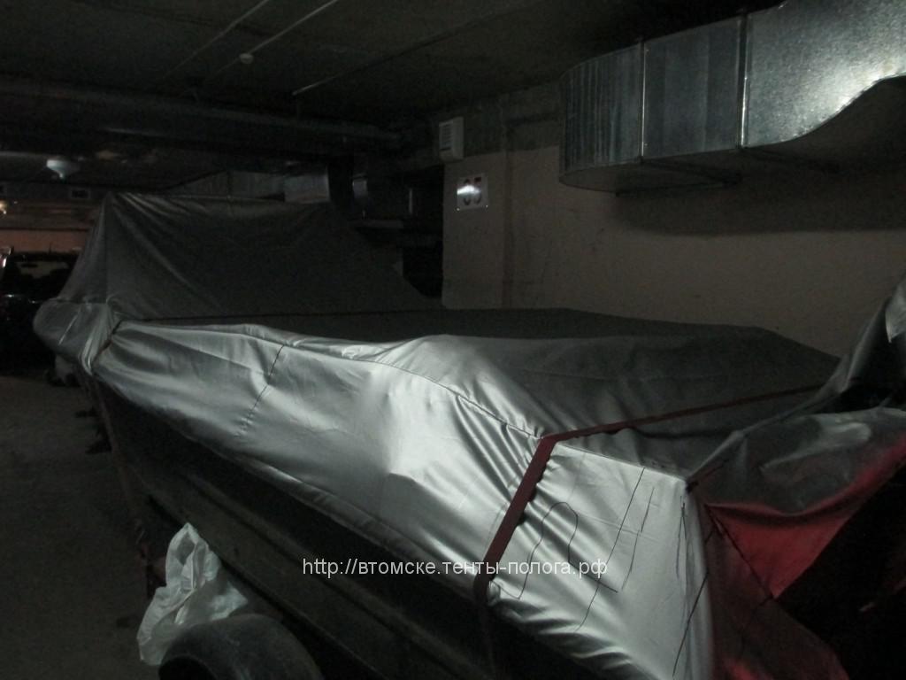 Изготовление транспортировочного тента для лодки Крым
