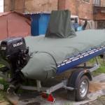 Транспортировочный тент на лодку РИБ SKYBOAT