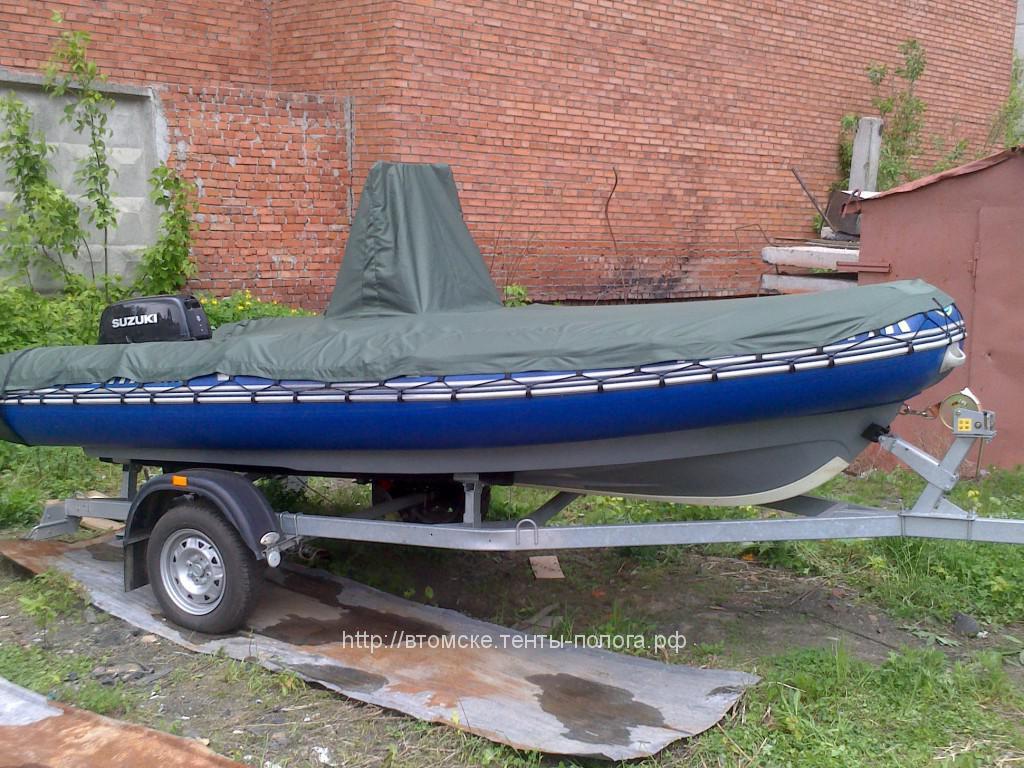 Тент для лодки РИБ SKYBOAT