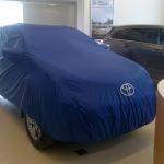 Изготовление тента-чехла на автомобиль Toyota Rav 4