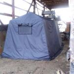 Изготовление палатки охотника
