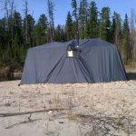 Пошив палатки охотника в Томске