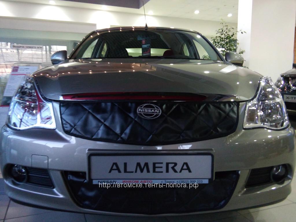 Утеплитель радиатора Nissan Almera