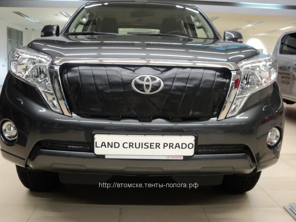 Утеплитель радиатора для автомобиля Toyota Land Cruiser Prado