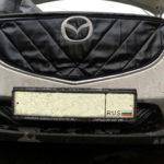 Маска-утеплитель решетки радиатора Mazda CX5
