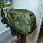 Пошив защитных колпаков для подвесных лодочных моторов в Томске