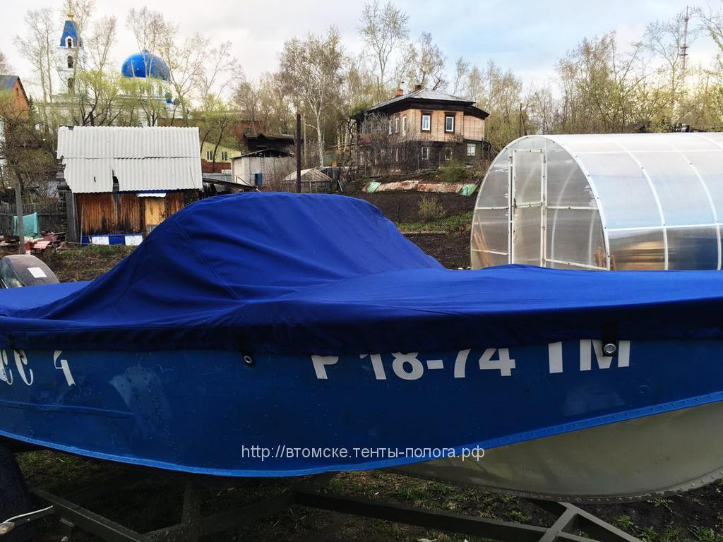 Защитный транспортировочный тент на лодку «Прогресс»