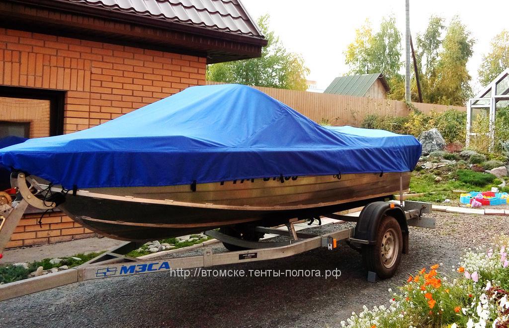 Транспортировочный тент на лодку Wellboat 46m